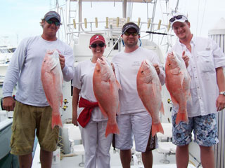 Key West fishing for snapper aboard the Outer Limits